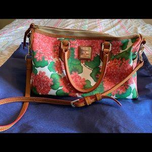Dooney and Bourke hydrangea satchel